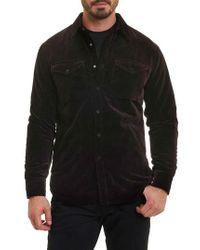 Robert Graham - Carnaby Slim Fit Shirt Jacket - Lyst
