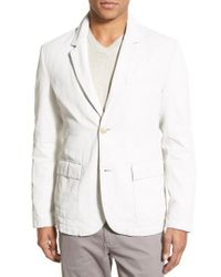 James Perse - Linen Blend Unconstructed Sport Coat - Lyst