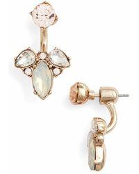 Marchesa - Stone Floater Earrings - Lyst