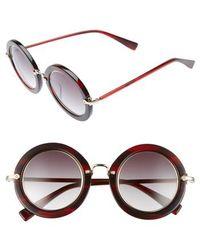 Derek Lam - Madison 46mm Round Sunglasses - - Lyst