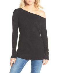 French Connection | Urban Flossy One-shoulder Sweater | Lyst