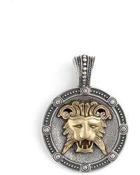 Konstantino | Myrmidones Lion Face Pendant | Lyst