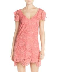 BB Dakota - 'jacqueline' Lace Shift Dress - Lyst
