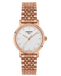 Tissot - Everytime Bracelet Watch - Lyst