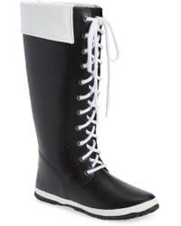 Dav - Lace-up Waterproof Rain Boot - Lyst