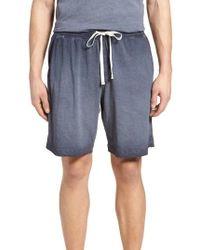 Daniel Buchler - Cotton Vintage Knit Shorts - Lyst