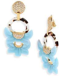 Lele Sadoughi - Rio Clip Drop Earrings - Lyst