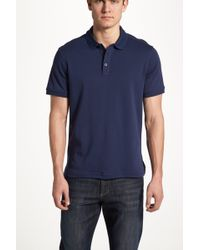e80c0daad Lyst - Nordstrom Regular Fit Cotton Polo in Blue for Men