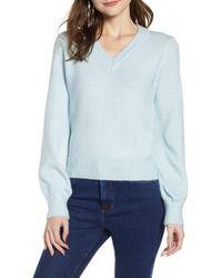 Vero Moda - Dalo V-neck Sweater - Lyst