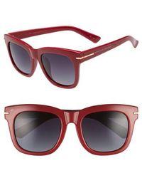 Privé Revaux - X Madelaine Petsch The Clique 52mm Square Sunglasses - - Lyst