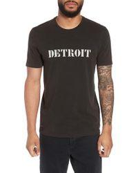 John Varvatos - John Varvatos X Nick Jonas Rock City Graphic T-shirt - Lyst