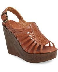 Very Volatile - Prolific Wedge Sandal - Lyst