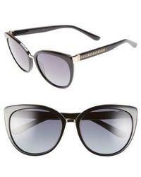 Jimmy Choo - 'danas' 56mm Cat Eye Sunglasses - Lyst