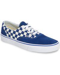 4e859a571ecef6 Lyst - Vans Washboard Mens Sneaker in Blue for Men