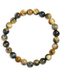 Link Up | Hawk's Eye Bead Bracelet | Lyst