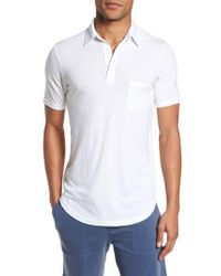 Goodlife - Triblend Scallop Polo - Lyst
