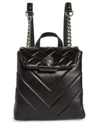Kurt Geiger - Small Kensington Leather Backpack - Lyst
