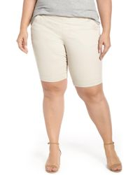 Jag Jeans - Ainsley Pull-on Bermuda Shorts - Lyst