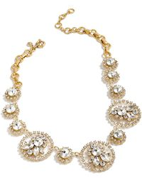 J.Crew - Crystal Statement Necklace - Lyst
