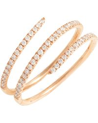 Bony Levy Diamond Spiral Ring (nordstrom Exclusive)
