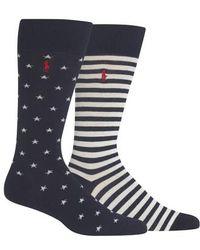 Polo Ralph Lauren - Ralph Lauren Stars & Stripes 2-pack Socks - Lyst