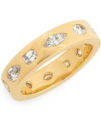 Kwiat - Multi Shape Diamond Stacking Ring - Lyst