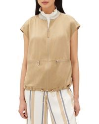 Lafayette 148 New York - Tonya Artistry Silk Chain Detail Vest - Lyst