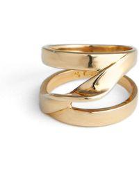 St. John - Twist Metal Ring - Lyst
