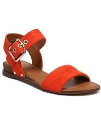 Sarto - Patterson Low Wedge Sandal - Lyst