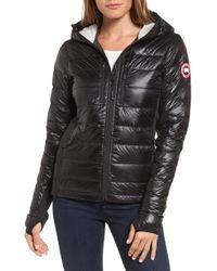 Canada Goose - 'hybridge Lite' Slim Fit Hooded Packable Down Jacket, (online Only) - Lyst