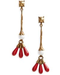 Valentino - Drop Earrings - Lyst