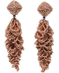Sachin & Babi - Noir Lulu Drop Earrings - Lyst
