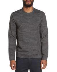 Calibrate - Space Dye Stripe Sweatshirt - Lyst