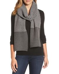 MICHAEL Michael Kors | Double Links Wool & Cashmere Scarf | Lyst