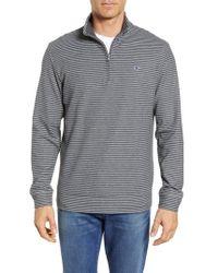 Vineyard Vines - Kennedy Stripe Quarter Zip Sweatshirt - Lyst