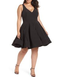 Mac Duggal - Fit & Flare Party Dress - Lyst