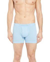 Calvin Klein - Cotton Boxer Briefs - Lyst