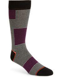 Ted Baker - Myyro Stripe Socks - Lyst
