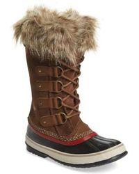 Sorel | 'joan Of Arctic' Waterproof Snow Boot | Lyst
