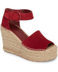 Marc Fisher | Alida Espadrille Platform Wedge | Lyst