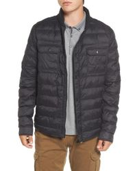BOSS Orange - Orin Water Repellent Quilted Jacket - Lyst