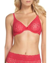 Wacoal | 'halo Lace' Convertible Underwire Bra | Lyst