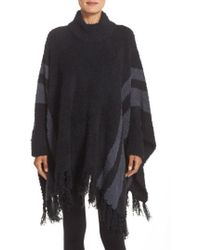 Barefoot Dreams - Barefoot Dreams 'cozy Chic Beach' Fringe Lounge Poncho - Lyst