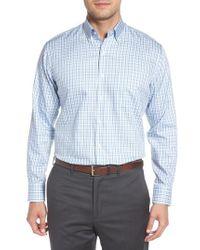 Peter Millar - Lake City Regular Fit Tattersall Sport Shirt - Lyst