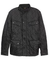 Barbour | 'ariel' Regular Fit Polarquilt Coat | Lyst