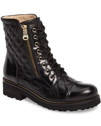 Ron White   Tiffany Water Resistant Combat Boot   Lyst