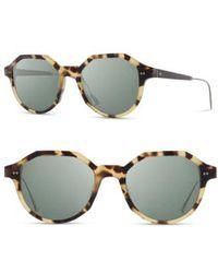 Shwood - Powell 50mm Polarized Geometric Sunglasses - - Lyst