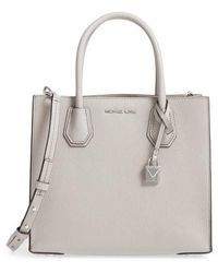 MICHAEL Michael Kors - 'medium Mercer' Pebbled Leather Tote - Lyst