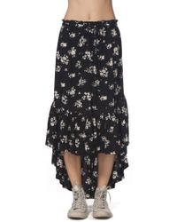 Rip Curl - Lakehouse Ruffle High/low Skirt - Lyst