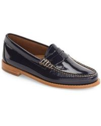 G.H. Bass & Co. - Whitney Leather Loafers - Lyst